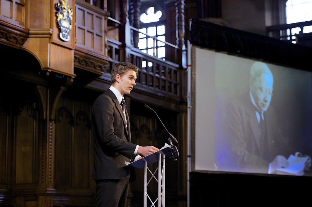 Letters written by students serving in World War I to Professor Thomas Tout, read by current University of Manchester students