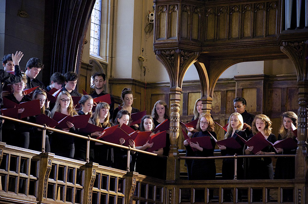 Composition by Rory Wainwright, 'On Returning', performed by the Cosmo Singers of the University of Manchester Chorus