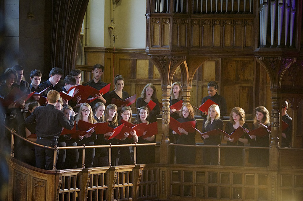 Composition by Yvonne Eccles, 'Memoriam Retinebimus', performed by the Cosmo Singers of the University of Manchester Chorus