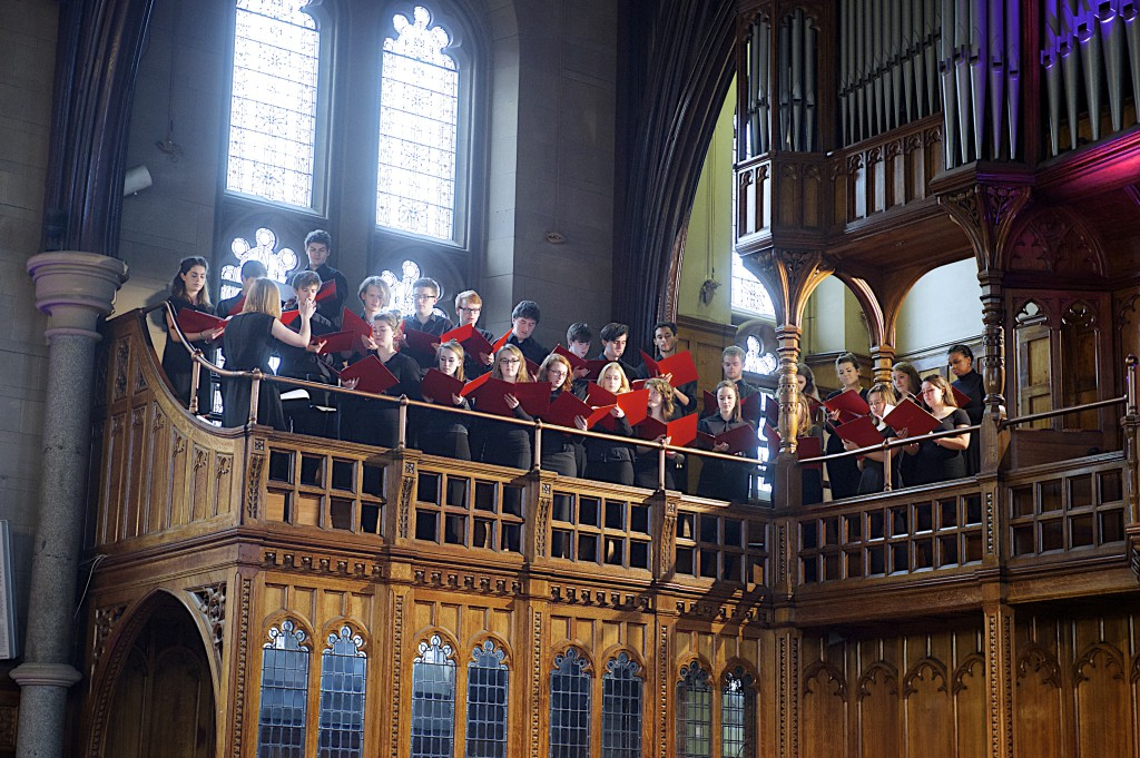 Composition by Emma Wilde, 'Boreas', performed by the Cosmo Singers of the University of Manchester Chorus