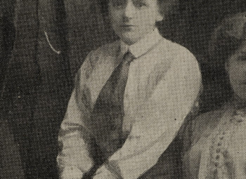 Ellen Wilkinson whilst a student at the Victoria University of Manchester